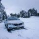 Škoda Octavia Scout in the snow