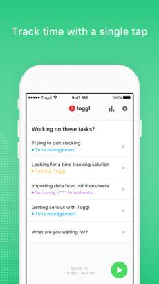 Toggl App Tasks