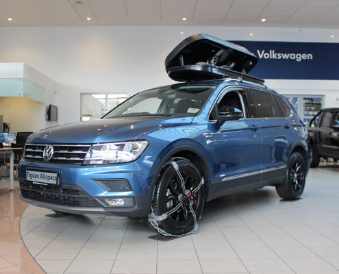 Volkswagen Tiguan Allspace with Off-road and Snow Accessories
